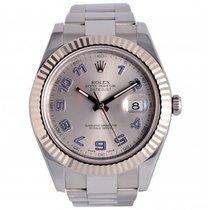 Rolex Datejust II Steel 41mm White Arabic numerals UAE, Dubai