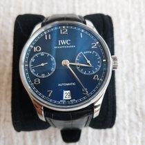 IWC Portuguese Automatic Acier Bleu Arabes France, Courbevoie