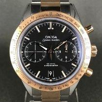 Omega Speedmaster '57 Or/Acier 41.5mm Noir Sans chiffres