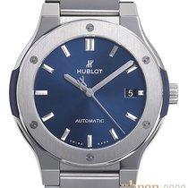 Hublot Classic Fusion Blue Titan 45mm Blau Keine Ziffern Deutschland, Bietigheim-Bissingen