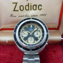 Zodiac Steel Manual winding Sea Wolf pre-owned