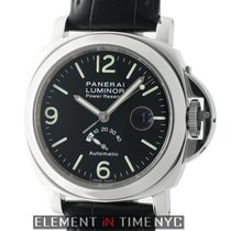 Panerai Luminor Power Reserve Steel 44mm Black United States of America, New York, New York