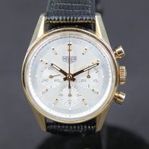 TAG Heuer 18K Gold Carrera Chronograph with Lemania Movement