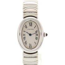 Cartier Baignoire pre-owned 22mm White gold