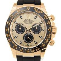 Rolex Daytona 18 K Yellow Gold Gold Automatic 116518LN_RUBBER