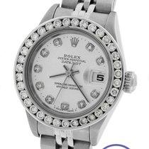Rolex DateJust 26mm 79240 Silver Diamond Stainless Jubilee 79174
