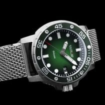 Nauticfish new Automatic Luminescent Numerals Luminescent Hands Rotating Bezel Screw-Down Crown Helium Valve Luminous indexes 43mm Steel Sapphire crystal