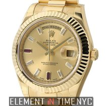 Rolex Day-Date II new Automatic Watch with original box and original papers 218238