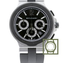 Bulgari Diagono Chronograph Steel/Ceramic Black Dial Automatic