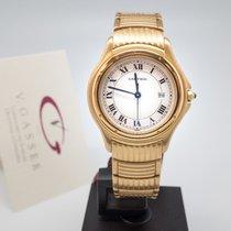 Cartier Cougar neu Quarz Uhr mit Original-Box und Original-Papieren W35009L3