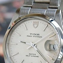 Tudor Rolex  Prince OysterDate Vintage SS Mens Pre-Owned Watch...