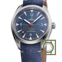 Omega Railmaster Co-Axial Master Chronometer 40 Blue Denim...