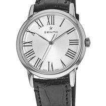Zenith Elite Steel Silver Roman numerals United States of America, New York, Brooklyn
