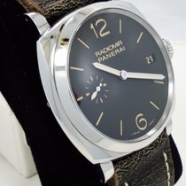 Panerai Radiomir 1940 3 Days pre-owned 47mm Black Date Leather