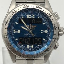 Breitling B-1 Acier 44mm Bleu Arabes France, paris