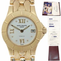 Patek Philippe Neptune Yellow gold 36mm Silver United States of America, New York, Huntington