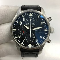 IWC IW377709 Steel Pilot Chronograph 43mm pre-owned United States of America, California, Newport Beach