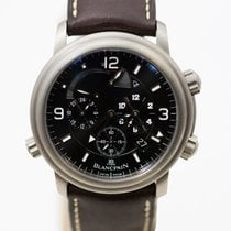 Blancpain Léman Réveil GMT Titanium 40mm Black United States of America, Arizona, Scottsdale