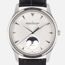 Jaeger-LeCoultre Master Ultra Thin Moon pre-owned Crocodile skin