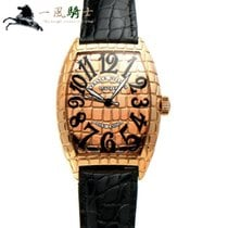 Franck Muller Rose gold 55mm Automatic 8880SC GOLD CRO pre-owned