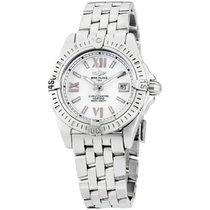 Breitling Cockpit Lady Steel 32mm Silver Roman numerals United States of America, New York, Brooklyn