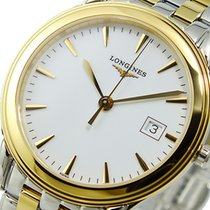 Longines Flagship Steel 39mm White No numerals United States of America, New York, NY