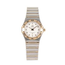 Omega Constellation Ladies Gold/Steel 22.5mm Champagne