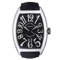 Franck Muller Steel Automatic Black Arabic numerals 44mm pre-owned Casablanca