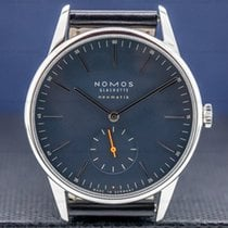 NOMOS Orion Neomatik Staal 39mm Blauw