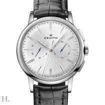 Zenith Elite Chronograph Classic Acier 42mm Argent