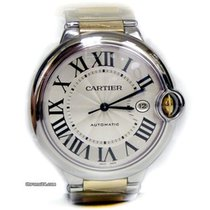 Cartier Ballon Bleu Stainless Steel and Gold