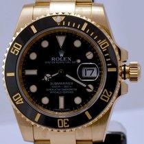Rolex Submariner Yellow Gold Black