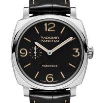 沛納海 Radiomir 1940 3 Days Automatic 新的 2018 自動發條 附正版包裝盒和原版文件的手錶 PAM00572