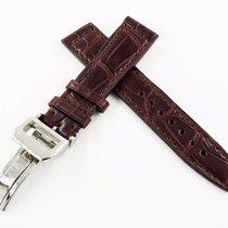 萬國 IWC New 20/18mm IWC Crocodile Leather Strap Replacement Band