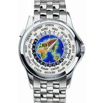 Patek Philippe Platinum Automatic 39.5mm new World Time