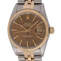 Rolex : Datejust 36mm :  16013 :  18k Gold &  Steel :...