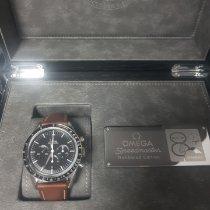 Omega Acero Cuerda manual Negro Sin cifras 39,7mm nuevo Speedmaster Professional Moonwatch