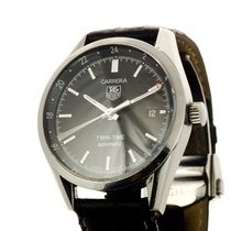 TAG Heuer Carrera Twin Time Gmt Automatic Calibre 7 Ref WV2115