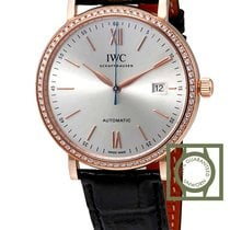 IWC Portofino Solo Tempo Pink Gold Diamonds NEW