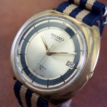 Seiko 7005 8150 Rare Vintage 1970s Gold Plated Japanese Automatic