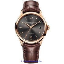 Baume & Mercier Rose gold Automatic Grey Arabic numerals 39mm new Clifton