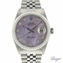 Rolex Datejust 36 Diamonds MOP Dial