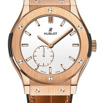 Hublot Classic Fusion Ultra-Thin Roségold 45mm Weiß Keine Ziffern