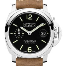 Panerai Luminor Marina Automatic neu 40mm Stahl