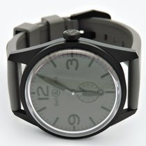 Bell & Ross BR123-95-SC Original-Commando Gray Face and Strap
