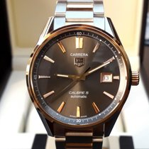 TAG Heuer Gold/Steel 39mm Automatic WAR215E.BD0784 new