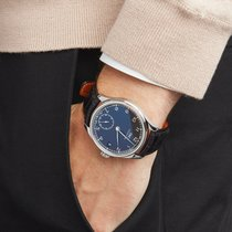 IWC Portuguese Hand Wound Eight Days Roestvrij Staal IW510202...