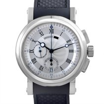 Breguet Marine pre-owned 42mm White gold