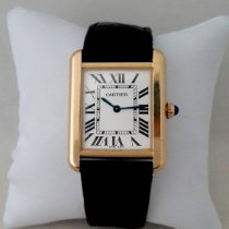 Cartier Tank Solo occasion Or jaune