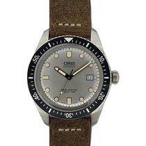 Oris Divers Sixty Five Steel 42mm Grey No numerals